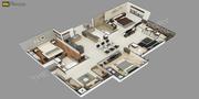 Commercially developed 3D Floor Plans