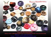 Buffalo Horn Button Blanks