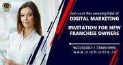 Digital marketing Franchise  with NIDM INDIA