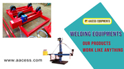 Welding Booms | Welding Rotators | welding roller