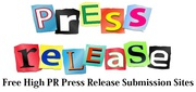 Free Press Release Submission Sites Instant Approval