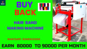 Hair rubber band making machine with buyback agreement, Call-9348920066
