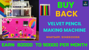 VELVET PENCIL MACHINE WITH BUY BACK AGREEMENT, CALL-934892066