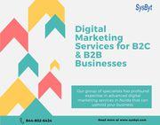 Digital marketing services for B2C & B2B businesses