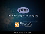 Php development company in Chennai
