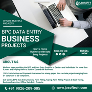 Data Entry Projects for Startup Business in BPO
